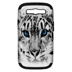 Animal Leopard In Snow Samsung Galaxy S III Hardshell Case (PC+Silicone)