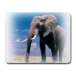 Animals Elephants Lonely But Strong Small Mousepad