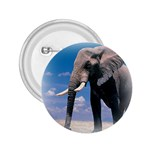 Animals Elephants Lonely But Strong 2.25  Button