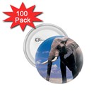 Animals Elephants Lonely But Strong 1.75  Button (100 pack)