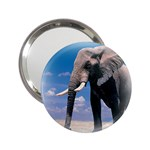 Animals Elephants Lonely But Strong 2.25  Handbag Mirror