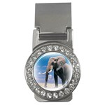 Animals Elephants Lonely But Strong Money Clip (CZ)