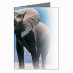 Animals Elephants Lonely But Strong Greeting Card