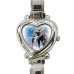 Animals Elephants Lonely But Strong Heart Italian Charm Watch