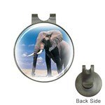 Animals Elephants Lonely But Strong Golf Ball Marker Hat Clip