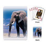 Animals Elephants Lonely But Strong Playing Cards Single Design