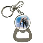 Animals Elephants Lonely But Strong Bottle Opener Key Chain