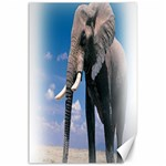 Animals Elephants Lonely But Strong Canvas 24  x 36