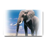 Animals Elephants Lonely But Strong Small Doormat
