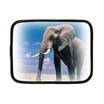 Animals Elephants Lonely But Strong Netbook Case (Small)