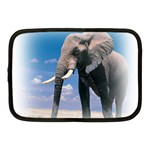 Animals Elephants Lonely But Strong Netbook Case (Medium)