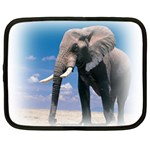 Animals Elephants Lonely But Strong Netbook Case (Large)