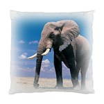 Animals Elephants Lonely But Strong Cushion Case (Two Sides)