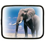 Animals Elephants Lonely But Strong Netbook Case (XXL)