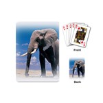 Animals Elephants Lonely But Strong Playing Cards (Mini)