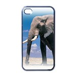 Animals Elephants Lonely But Strong Apple iPhone 4 Case (Black)