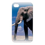 Animals Elephants Lonely But Strong Apple iPhone 4/4S Premium Hardshell Case