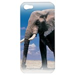 Animals Elephants Lonely But Strong Apple iPhone 5 Hardshell Case
