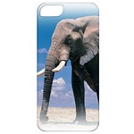 Animals Elephants Lonely But Strong Apple iPhone 5 Classic Hardshell Case