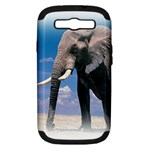 Animals Elephants Lonely But Strong Samsung Galaxy S III Hardshell Case (PC+Silicone)