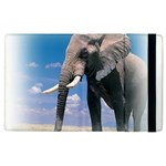 Animals Elephants Lonely But Strong Apple iPad 3/4 Flip Case