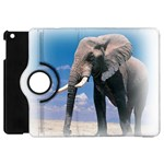 Animals Elephants Lonely But Strong Apple iPad Mini Flip 360 Case