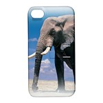 Animals Elephants Lonely But Strong Apple iPhone 4/4S Hardshell Case with Stand
