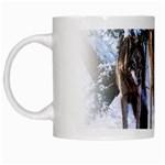 Animal Wolf Family Love White Mug