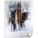 Animal Wolf Family Love Canvas 18  x 24
