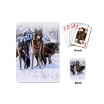 Animal Wolf Family Love Playing Cards (Mini)