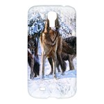 Animal Wolf Family Love Samsung Galaxy S4 I9500 Hardshell Case