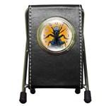 Animal Oil Beetle Pen Holder Desk Clock