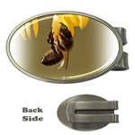 Bee Hard Work Money Clip (Oval)