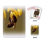 Bee Hard Work Playing Cards Single Design