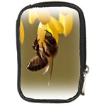 Bee Hard Work Compact Camera Leather Case
