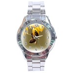 Bee Hard Work Stainless Steel Analogue Men's Watch