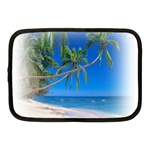 Beach Palm Trees Stretching Out For Love Netbook Case (Medium)