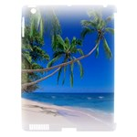 Beach Palm Trees Stretching Out For Love Apple iPad 3/4 Hardshell Case (Compatible with Smart Cover)