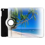 Beach Palm Trees Stretching Out For Love Apple iPad Mini Flip 360 Case