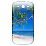 Beach Palm Trees Stretching Out For Love Samsung Galaxy S3 S III Classic Hardshell Back Case