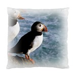 Atlantic Puffin Birds Cushion Case (One Side)