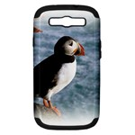 Atlantic Puffin Birds Samsung Galaxy S III Hardshell Case (PC+Silicone)