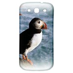 Atlantic Puffin Birds Samsung Galaxy S3 S III Classic Hardshell Back Case