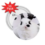 Animals Rabbits Brothers 2.25  Button (10 pack)