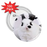 Animals Rabbits Brothers 2.25  Button (100 pack)