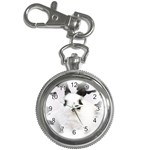 Animals Rabbits Brothers Key Chain Watch