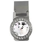 Animals Rabbits Brothers Money Clip (CZ)