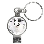 Animals Rabbits Brothers Nail Clippers Key Chain