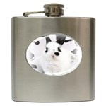Animals Rabbits Brothers Hip Flask (6 oz)