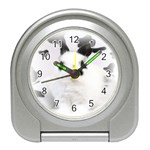 Animals Rabbits Brothers Travel Alarm Clock